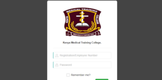 KMTC student portal for course registration,admission letter,fee payments,scholarships; KMTC online course application process
