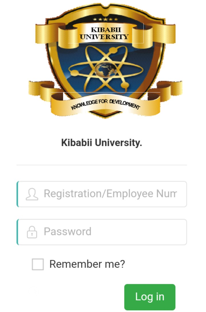 Kibabii University student portal (kibu portal) portal kibu ac ke