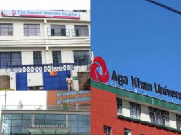 Private Hospitals Nairobi County