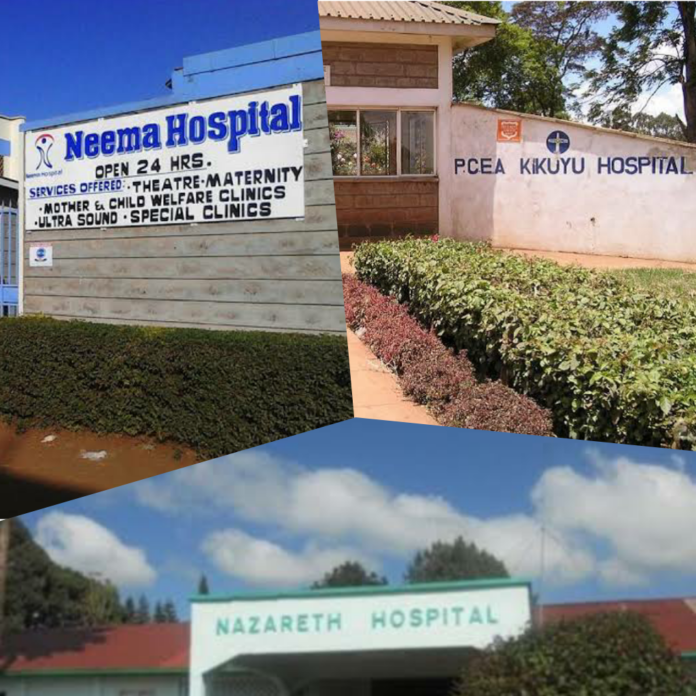 top private hospitals Kiambu County