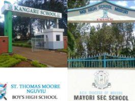 ten best public secondary schools in Embu County
