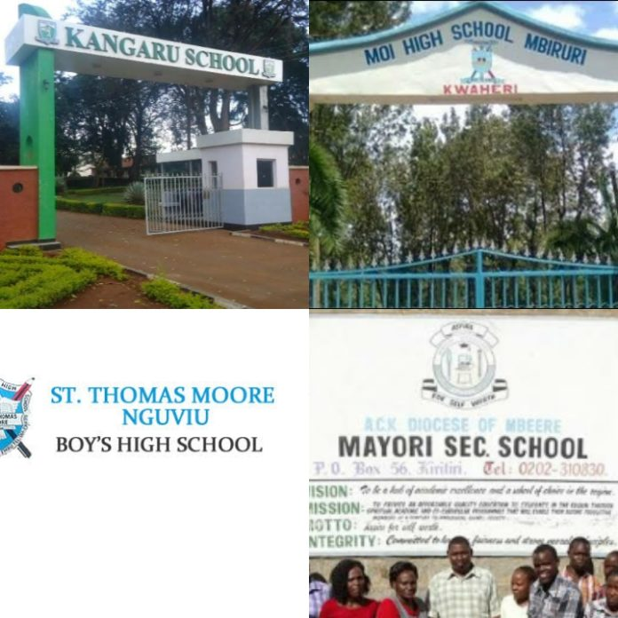 ten best public secondary schools in Embu County