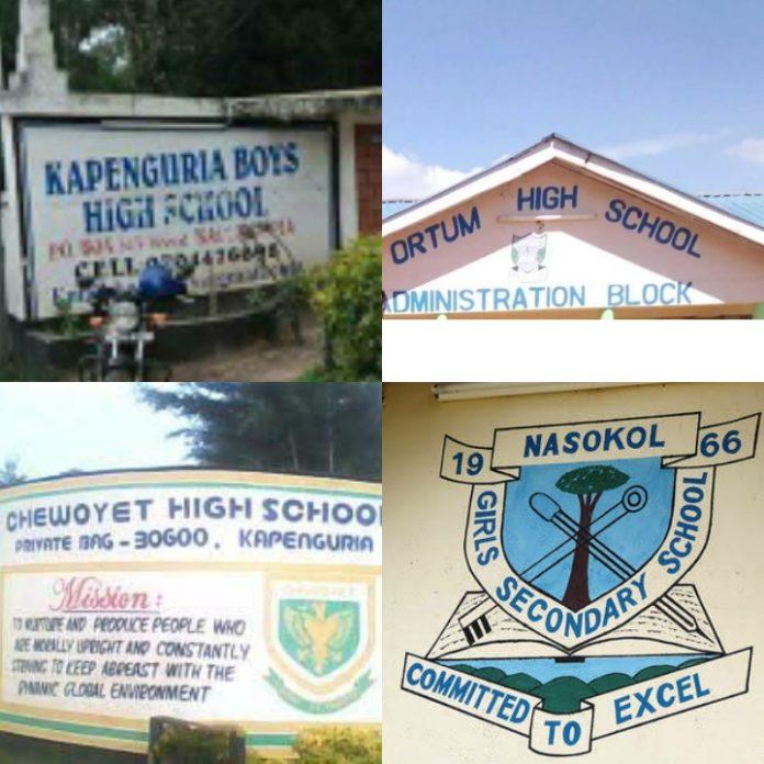 best public secondary schools in West Pokot County