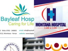 ten best private hospitals in Mombasa county
