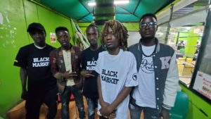 Boondocks gang signs with American label