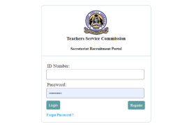 TSC Secretariat Recruitment portal