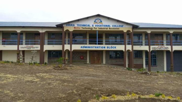 CHUKA TECHNICAL AND VOCATIONAL COLLEGE GIVES LOCALITY