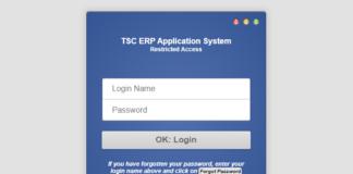 TSC internship application (https://hrmis.tsc.go.ke)