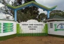 Senior Chief Koinange Girls