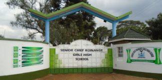 Senior Chief Koinange Girls