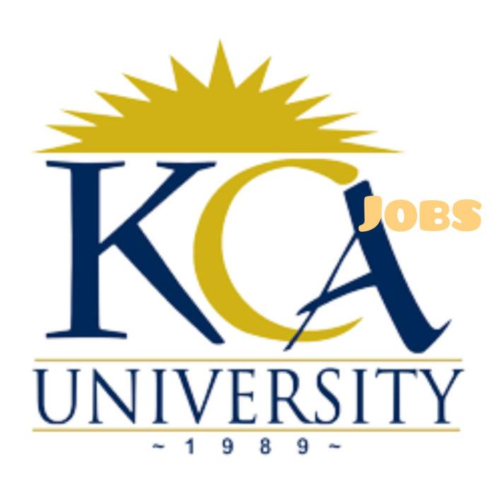 KCA University jobs
