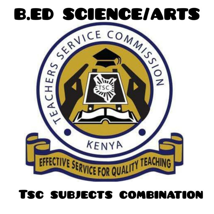Bachelor of Education Arts/Science TSC Subject combination