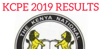 KCPE 2019 Results; KNEC SMS Code 20076 and Online process