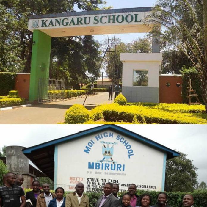 Extra county secondary schools Embu County