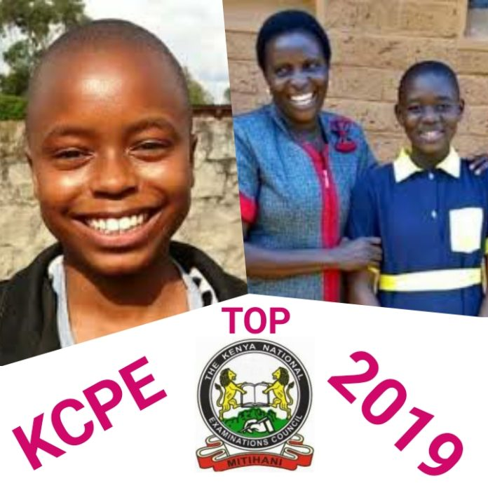 List of top 100 students KCPE 2019