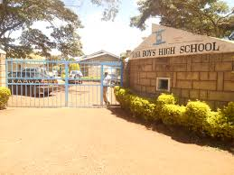 Gate of Kaaga Boys - one of Extra county schools in Meru County