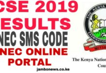 How to Check KCSE 2019 Results Via KNEC SMS Code 20076 or Online KNEC Portal