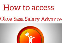 How to access Okoa Sasa Salary Advance via USSD Code