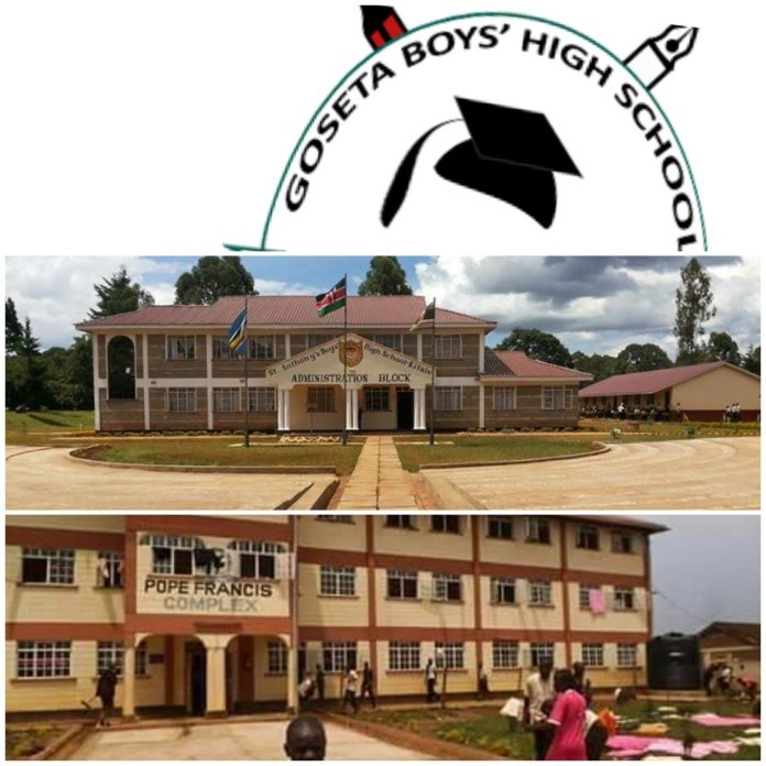 List of extra county schools in Trans Nzoia County