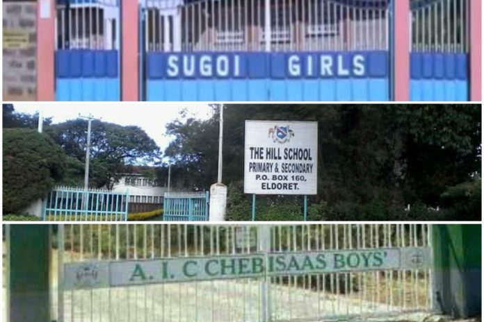 List of best performing Extra County schools in Uasin Gishu County