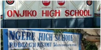 List of best performing Extra County Secondary schools in Kisumu County