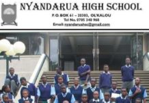 Nyandarua High school KCSE 2019 Results and distribution of grades