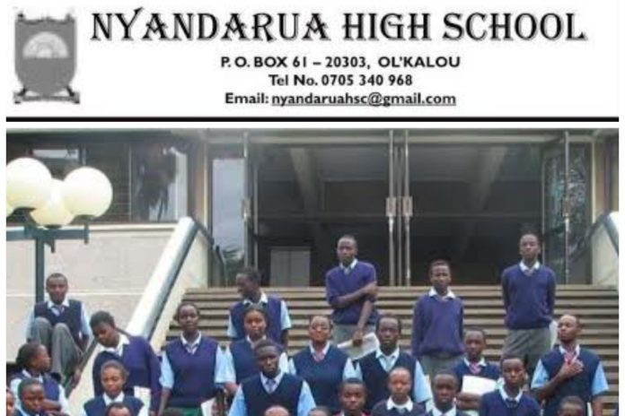 Nyandarua Highschool KCSE 2019 Results and distribution of grades