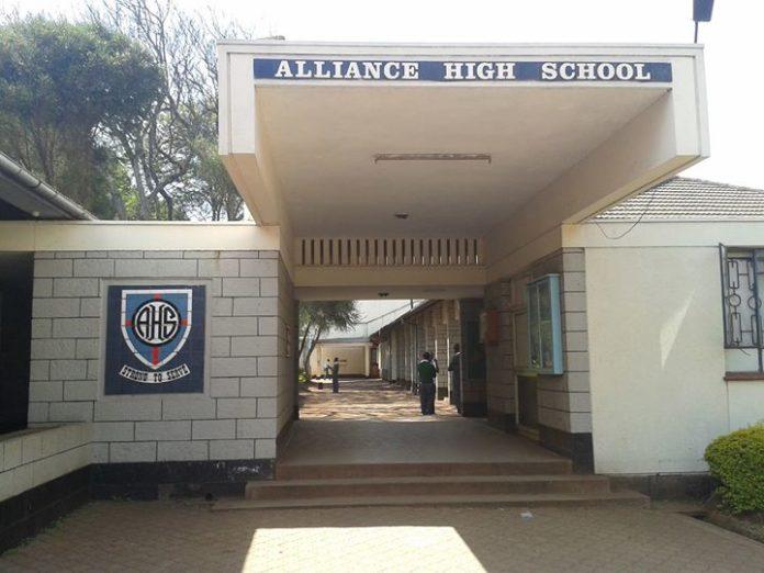 aLLIANCE HIGH SCHOOL kcse 2019 results