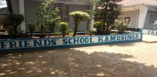Friends School Kamusinga KCSE 2019 Results and distribution of grades