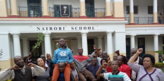 Nairobi school KCSE 2019 Results and distribution of grades