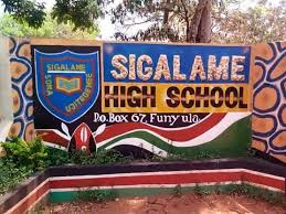 Sigalame High School - an extra county school Busia county