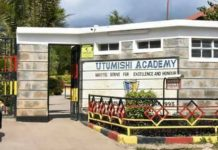 Utumishi Academy KCSE 2019 Results and distribution of grades
