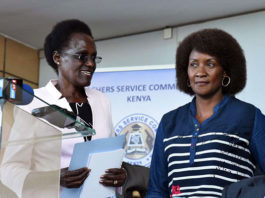 Tsc Chairperson Dr. Nzomo and TSC CEO Dr. Nancy Macharia