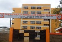 diploma in nursing at thika school of medical and health sciences