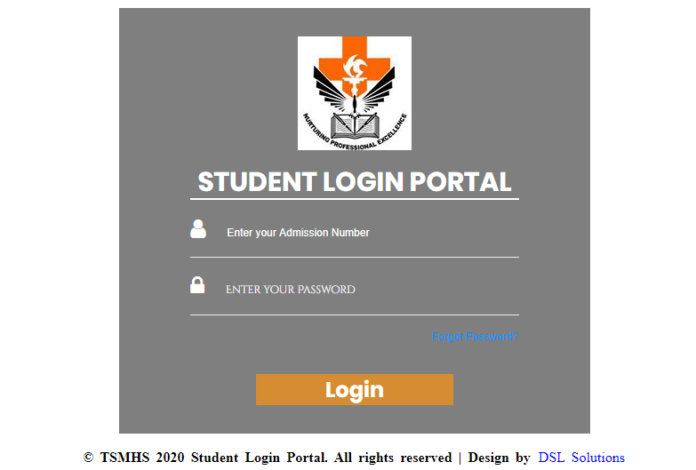Thika School of Medical and Health Science Student Portal