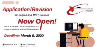 How to Apply/Revise for KUCCPS 2020/2021 Courses step-by-step