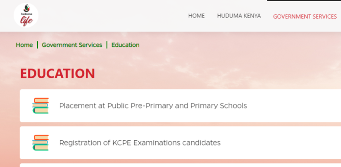 Education services offered at Huduma Centre