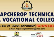 Kapcherop Technical Training Institute