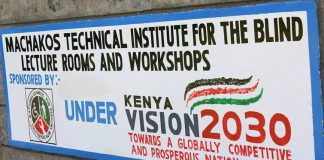 Machakos Technical Institute For The Blind location fee structure