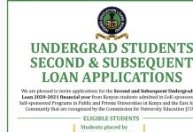 How to apply HELB Subsequent Loan Form 2020/2021