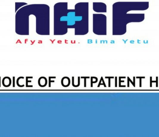 How to Choose or Change NHIF Outpatient Facility