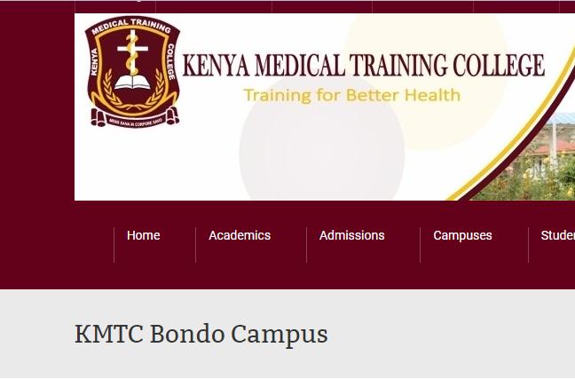 KMTC bondo campus